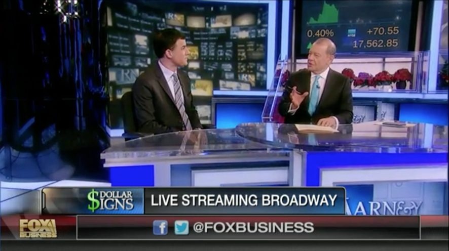 Broadway to Present First Ever Livestreamed Show